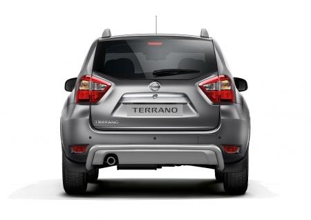 Защита заднего бампера d51мм Nissan Terrano 2014